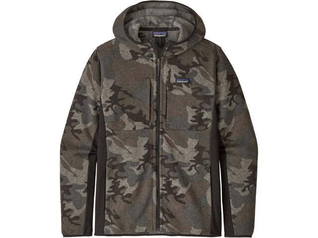 Patagonia Lightweight Better Sweater Sudadera Capucha Hombre, river delta/forge grey